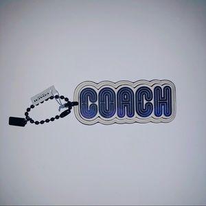 Coach large keychain